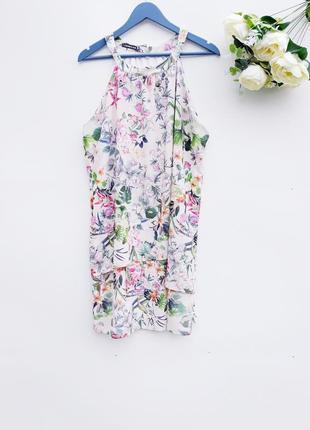 Летнее платье на запах легкое красивое платье на лето