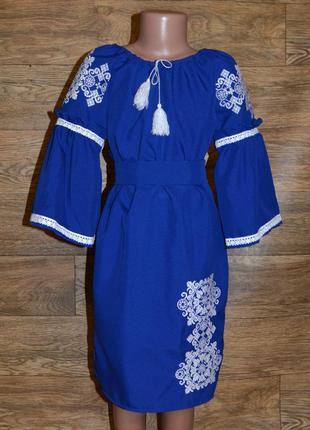 Вишиванка вышиванка платье с вышивкой для девочки 9-10 лет