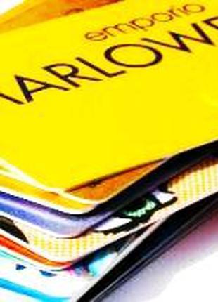 Пластикові картки на замовлення, печать пластиковых карт,визиток