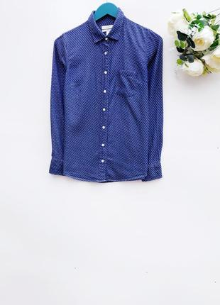Джинсовая рубашка стильная рубашка унисекс