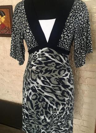 Натуральное трикотажное летнее платье