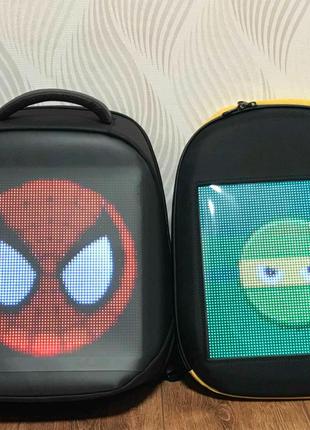 Led рюкзак с дисплеєм/ Led рюкзак с екраном + Power Bank в подаро