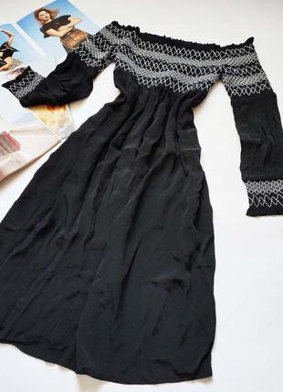 Невероятно романтичное платье с вышивкой струящаяся ткань от b...
