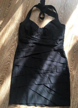 Черное платье от grass