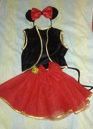 Платье костюм миннии маус