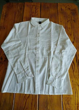 Женская класическая белая рубашка
