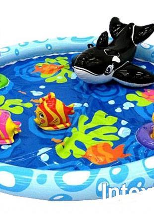 Детский надувной бассейн басейн центр Intex  Океан