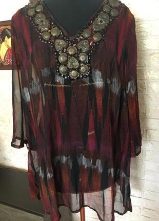Блузка в восточном стиле