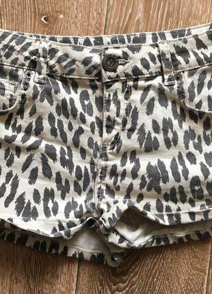 Леопардовые шортики