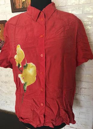 Блуза из купра