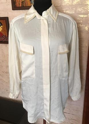 Блуза с бисером