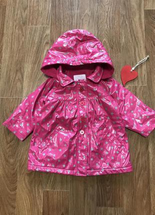 Крутая куртка непромокаемая на флисе
