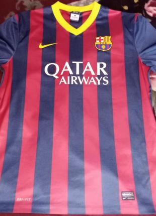Футболка nike fc barcelona