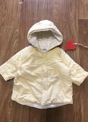 Крутая куртка на  хб подкладке зайчик