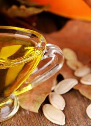 Свежевыжатое тыквенное масло