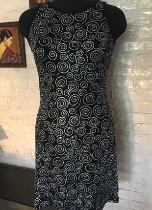 Нарядное блестящее платье с блестками от jeffrey rogers
