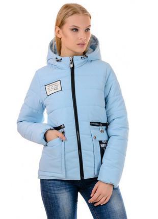 Яркая куртка сезона весна-осень. молодёжный модный стиль женск...