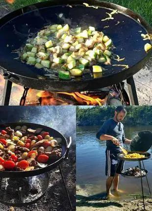 Широкий выбор сковорода из диска бороны для пикника от30 до 60 см