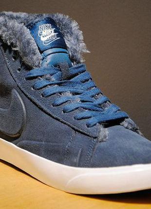 Зимние кроссовки Nike Blazer High | размер 40-й | найк блэйзер...