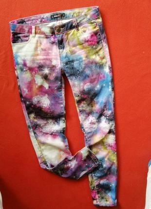 Бомбезные женские джинсы fb sister s в прекрасном состоянии