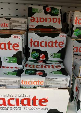Польське Масло вершкове Extra LACIATE жирність83%.сливочное масло