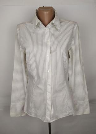Блуза рубашка оригинальная стрейчевая стильная mexx uk 12/40/m