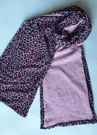 Двусторнний весенний шарф доставка бесплатно