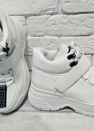 Ботинки женские white