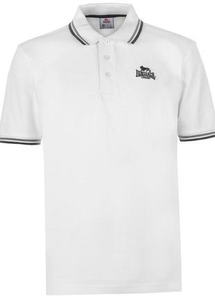 Lonsdale мужская футболка поло в наличии англия оригинал
