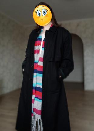 Торг 🔥 деми пальто батал из шерсти от erex wertarbeit (тироль,...