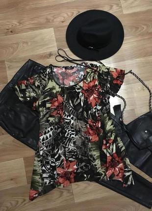 Шикарная кофта блуза рр l-xl
