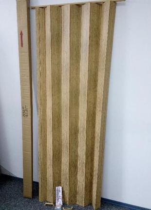 Дверь гармошкой межкомнатная 810*2030*6 мм СТАНДАРТ ассортимент