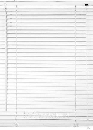 Жалюзи для окон и дверей горизонтальные белые готовые пластиковые