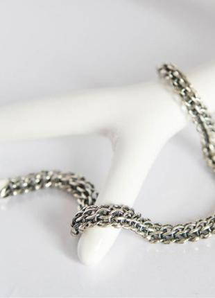 Цепь серебро 925 цепочка венеция лв006