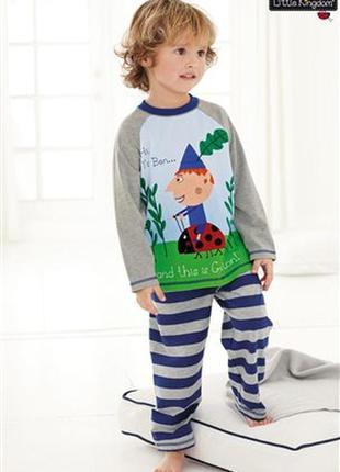 Пижама next  2-3 года  little kingdom  92-98cm