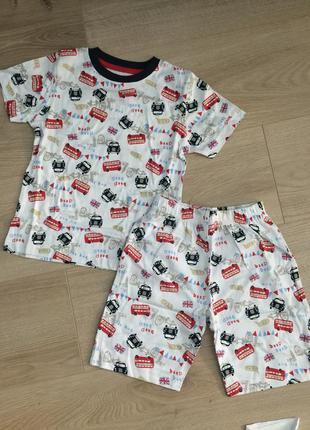 Пижама next 2-3 года 92-98cm