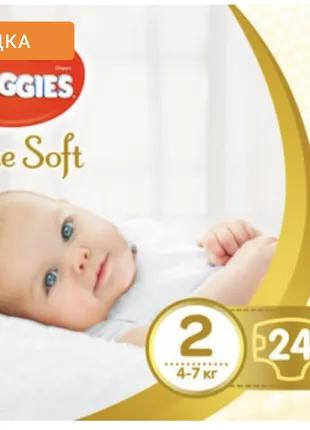 Памперсы Huggies Elite Soft Newborn 2 (4-6 кг),