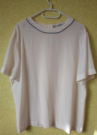 Valentino блуза, блузка, рубашка италия, шелковая винтажная бл...
