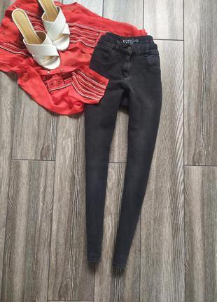 Плотные базовые джинсы скинни next 360