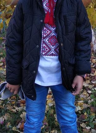 Демисезонная куртка мальчику