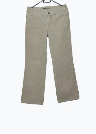Фирменные велюровые брюки / джинсы cambio jeans uk8