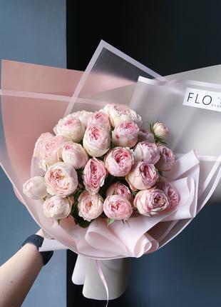 Букет пионовидных роз 550 грн!