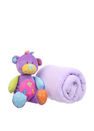 Детский подарочный набор (плед, игрушка) Eddy toys
