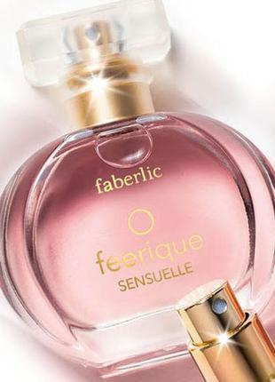 Парфюмерная вода o feerique sensuelle faberlic фаберлик о феер...