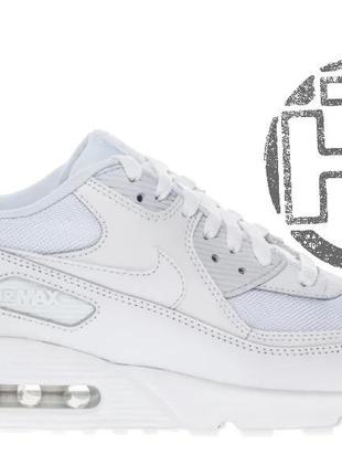 Женские кроссовки nike air max 90 mesh white 833418-100