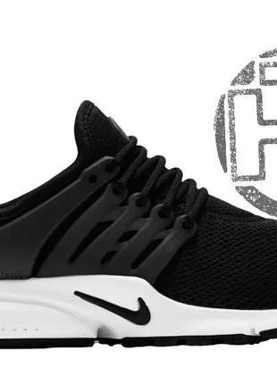 Женские кроссовки nike air presto black/white 846290-011