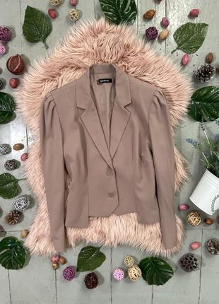 Оригинальный тауповый пиджак жакет блейзер №14