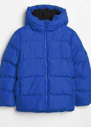 Демисезонная теплая куртка gap электрик
