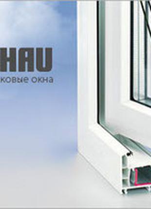Вікна двері металопластикові оригінальні якісні  німецькі REHAU