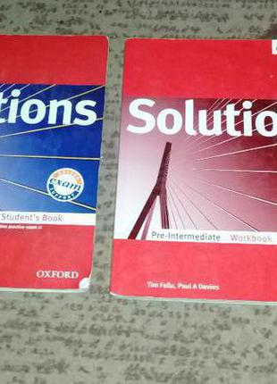 Solutions (student's book, workbook)